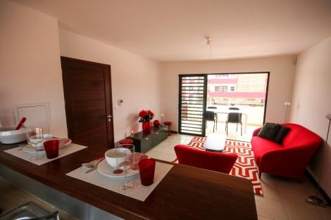 Appartement en location à Cayenne, 44.68m2,   2 pièce(s) - REF 443