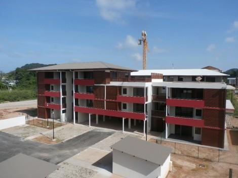 Appartement en location à Cayenne, 60.06m2,   3 pièce(s) - REF 482