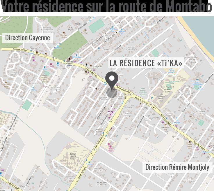 Localisation de votre résidence