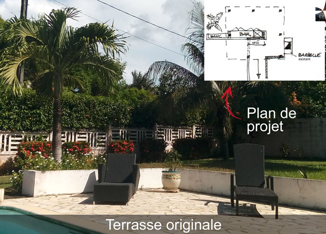 Terrasse originale