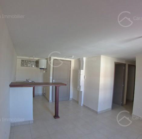 Appartement en location à Cayenne, 49.52m2,   3 pièce(s) - REF 903
