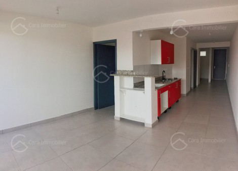 Appartement en location à Cayenne, 56m2,   2 pièce(s) - REF 1216