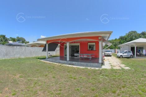Maison/villa en location à Macouria, 93.55m2,   4 pièce(s) - REF 1363