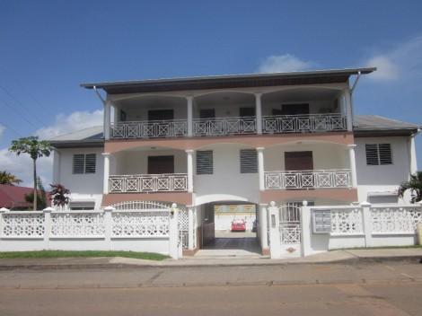 Appartement en location à Cayenne, 66.63m2,   2 pièce(s) - REF 238